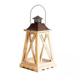 Lantern With Tapered Base