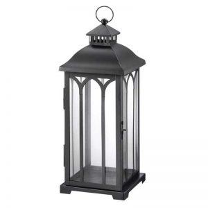 Metal Lantern in Black
