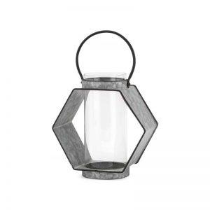 Galvanized Metal Lantern