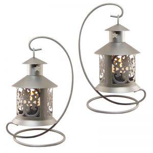 Metal Tealight Lantern