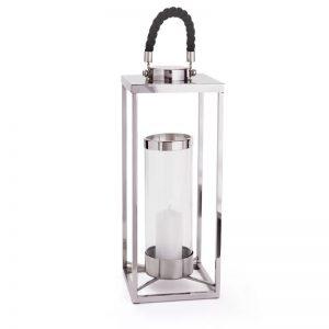 Glass/Stainless Steel Lantern