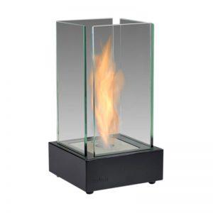 Black Tabletop Ethanol Fireplace