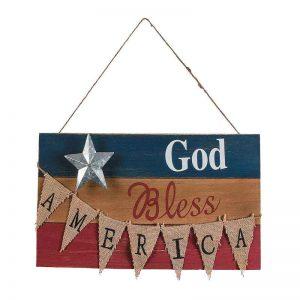 God Bless America Sign