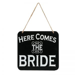 Here Comes The Bride/It¡¯s Party Time Sign