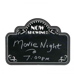 Movie Night Chalkboard