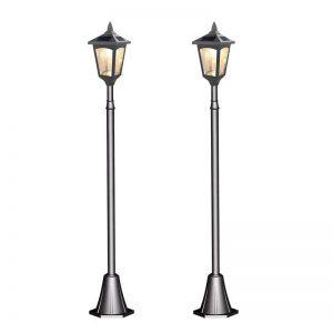 Solar Powered 42″ Outdoor Lamp