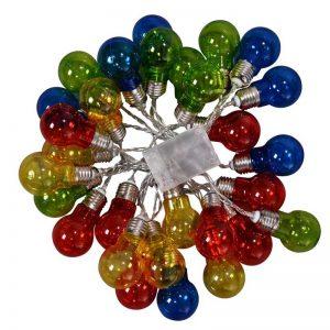 Vggift Christmas LED String Ball Lights Xmas Wedding Party Decor Lamp Colorful