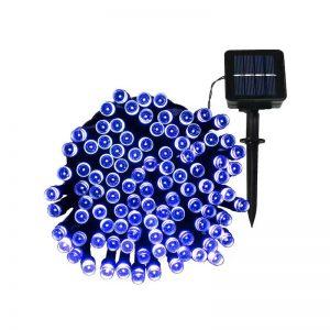 LED Solar Powered String Lights -blue
