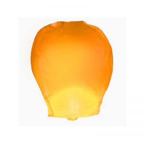 Orange Sky Lanterns (4 Count)