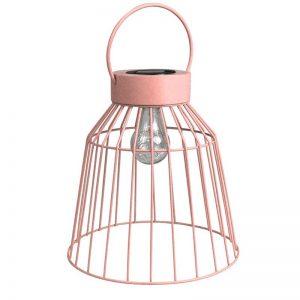 16in solar metal lantern